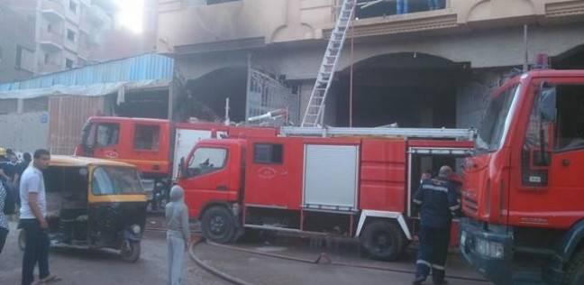 حريق يلتهم شقة سكنية في مدينة 6 أكتوبر دون إصابات بشرية