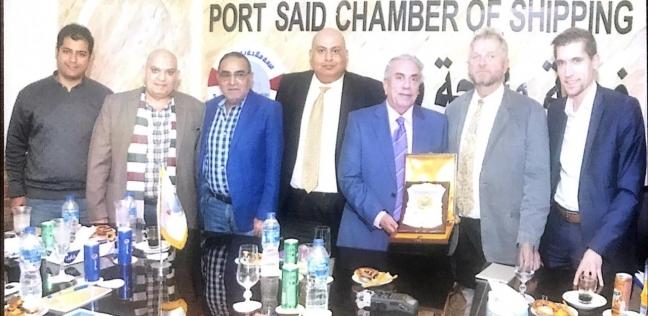 «ملاحة بورسعيد» تستضيف فريق إعداد مخطط تطوير الموانئ المصرية