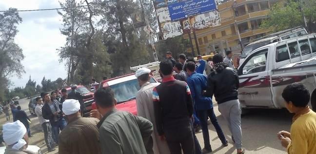 """إضراب سائقي خط """"قنتير- فاقوس"""" احتجاجا على نقل """"الموقف"""""""