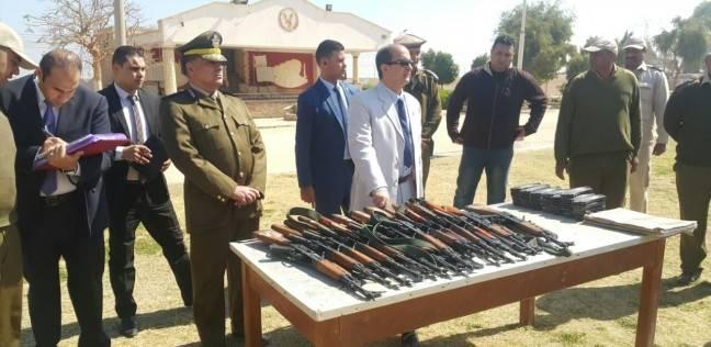 ضبط 4 أسلحة و6 قضايا مخدرات في حملة مكبرة بسوهاج