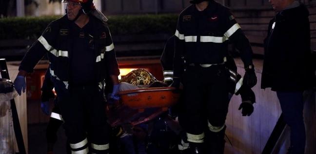بالفيديو  إصابة 20 شخصا بسبب سلم كهربائي بمترو في إيطاليا