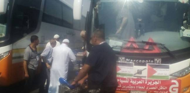 الصالة الموسمية تستقبل حجاج فلسطين بوجبات ومياه.. وحاج: مصر أم الدنيا