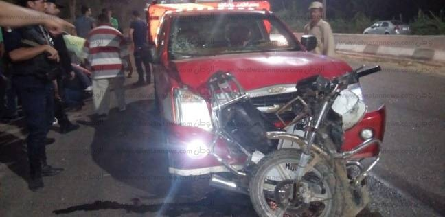 بالصور| إصابة أمين شرطة بسبب الزحام أمام قاعة حفل خطوبة شقيق صلاح