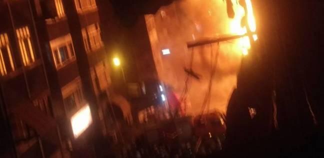 قوات الحماية المدنية تسيطر على حريق في ملهى ليلي بالغردقة