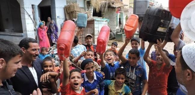 """8 قرى بالبحيرة """"عطشانة"""".. والأهالي: """"إرحمونا.. بنشرب مية مجاري"""""""