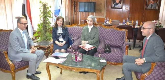 رئيس هيئة الكتاب يستقبل مستشارة جامعة الدول العربية
