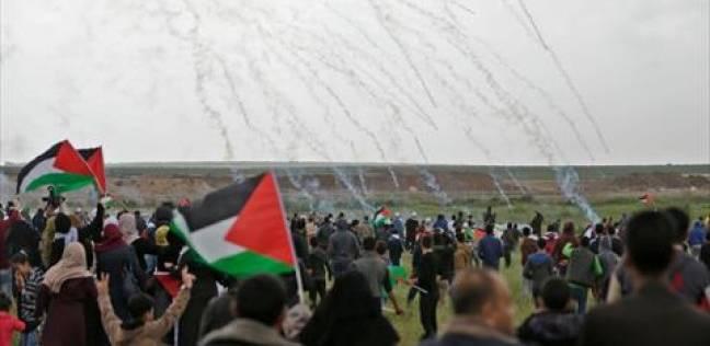 """""""غزة تنتفض والضفة تلتحم"""".. الاحتلال يقصف القطاع في مسيرات العودة الـ31"""