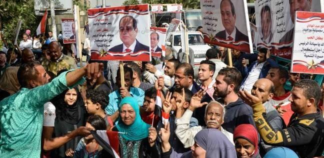 إقبال كبير في فيصل والهرم.. والشباب يظهرون بكثافة أمام اللجان