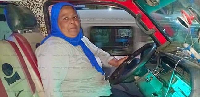 المحافظات   75 عاما وفقدت عملها كسائقة ميكروباص..  هدى  تناشد السيسي لحياة كريمة