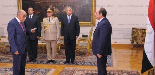"""سعادة في أسوان لأداء """"عبده"""" اليمين رئيسا لهيئة قضايا الدولة"""