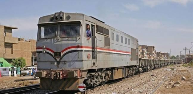 تعطل حركة القطارات لمدة ساعة في قها بالدقهلية