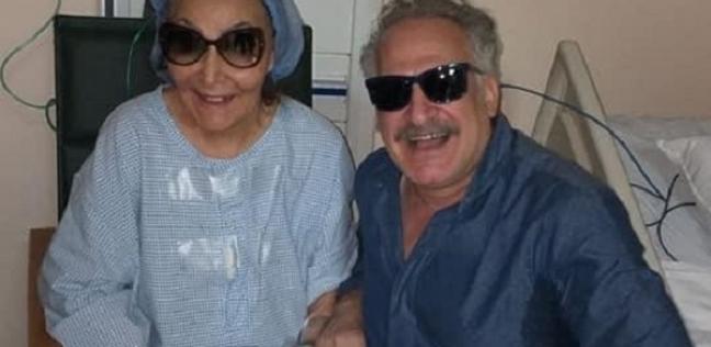فن وثقافة   زهران يزور سهير البابلي بالمستشفى.. ورواد  فيس بوك  يدعون لها بالشفاء