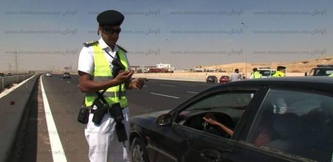 ضبط 160 سيارة نقل ثقيل مخالفة في المحافظات خلال 24 ساعة