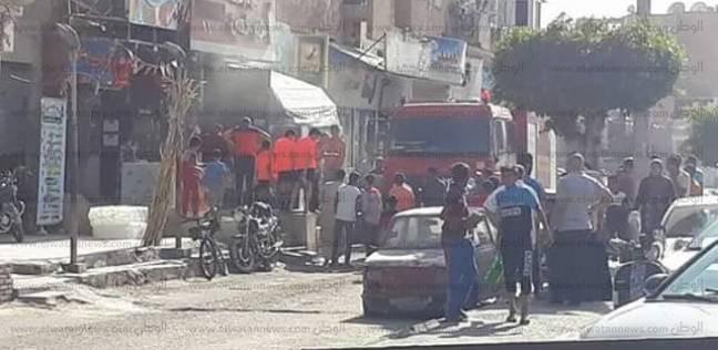 إخماد حريق في شقة سكنية بمنطقة بولاق الدكرور بالجيزة