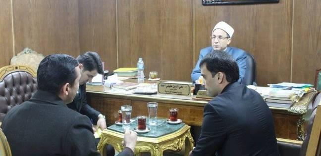 أمين البحوث الإسلامية يلتقي وفد سفارة طاجيكستان لبحث أوضاع الطلاب الوافدين