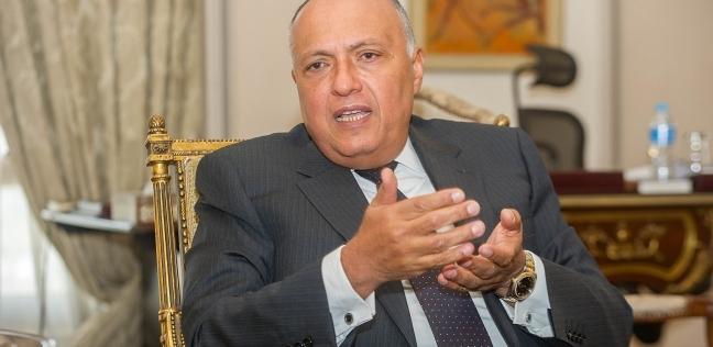 سامح شكري: التدخل الخارجي في الشأن الليبي يزيد الأمور تعقيدا