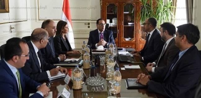 رئيس الوزراء يلتقي مسؤولي البنك الدولي للتعاون في تنمية سيناء