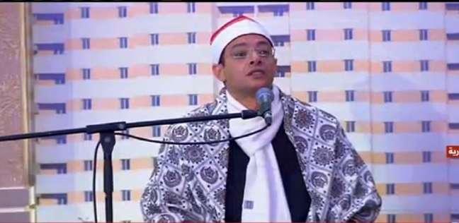 الشيخ أيمن عقل.. مقرئ المشروعات القومية الكبرى بحضور السيسي