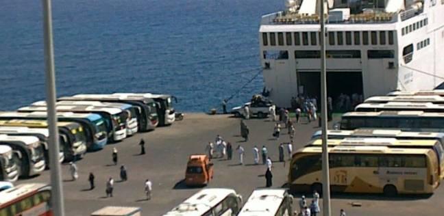 ميناء نويبع يشهد وصول وسفر 12 ألف معتمر خلال موسم العمرة