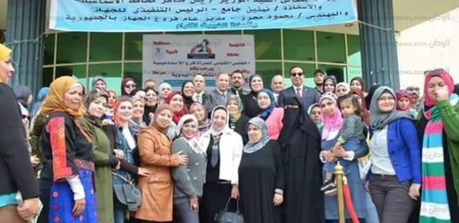 """""""القومي للمرأة"""" بالإسماعيلية يتابع تنفيذ معرض المشغولات اليدوية"""