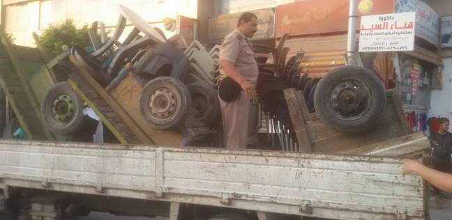 ضبط 164 من المضبوطات في حملة مرافق بمطروح