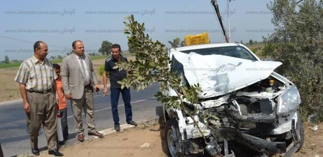 بالأسماء| ضحايا تصادم سيارتين على طريق العلمين