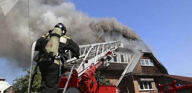 مقتل شخص وإجلاء آخرين إثر حريق في كاليفورنيا