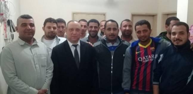 بالصور| القوى العاملة تتابع أحوال المصريين في قطر