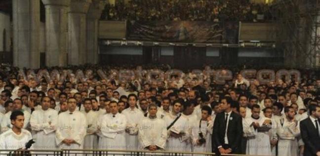 الخميس.. البابا تواضروس يشارك في تسبحة كيهك مع الشباب القبطي