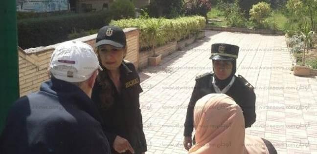 """بالصور  انتشار عناصر من الشرطة النسائية بـ""""لجان الدقي"""""""