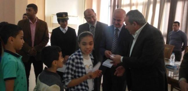 مديرية أمن القليوبية تحتفل بيوم اليتيم