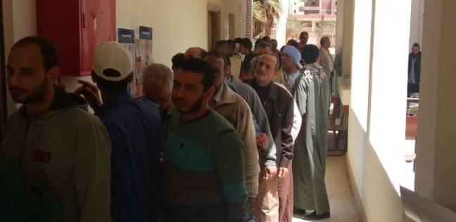 إقبال كثيف على الانتخابات بمسقط رأس الشهيد أحمد منسي
