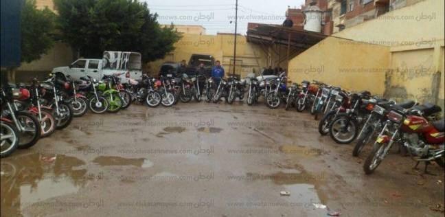ضبط تشكيل عصابي تخصص في سرقة الدراجات البخارية ببني سويف