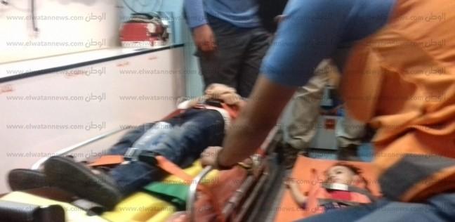 إصابة 9 بينهم 6 تلاميذ في حادث تصادم بسوهاج