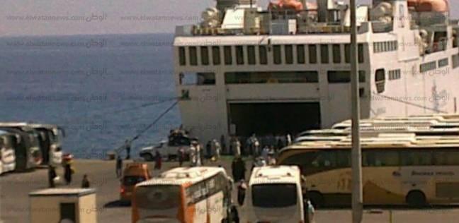 وصول وسفر 11 ألف و983 راكب بموانىء البحر الاحمر على مدار يومين
