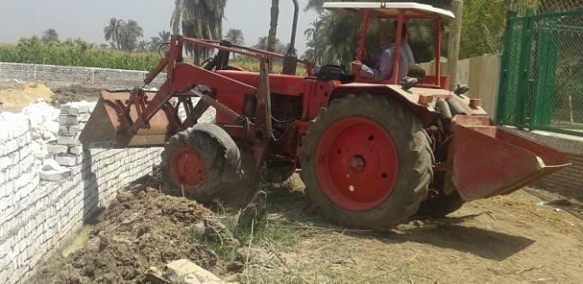 إزالة 901 حالة تعدِ على أراضي زراعية في الفيوم