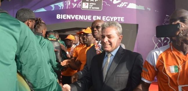 مطار القاهرة الدولي يستقبل منتخب كوت ديفوار