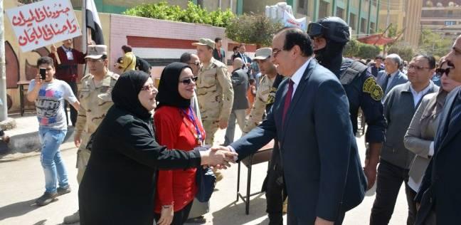 محافظ الدقهلية: الإقبال رسالة للعالم برغبة المصريين في استقرار الوطن