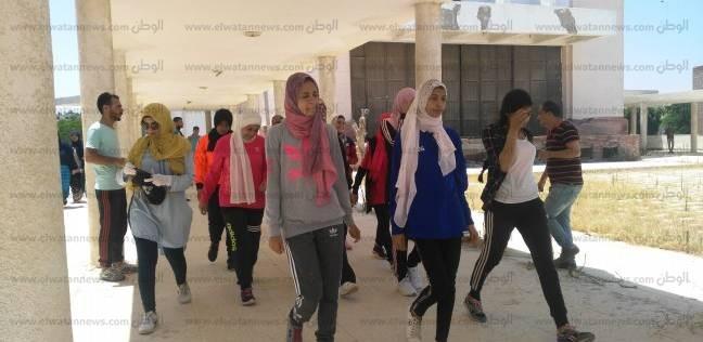 جامعة العريش تستقبل المتقدمين لاختبارات التربية الرياضية والنوعية
