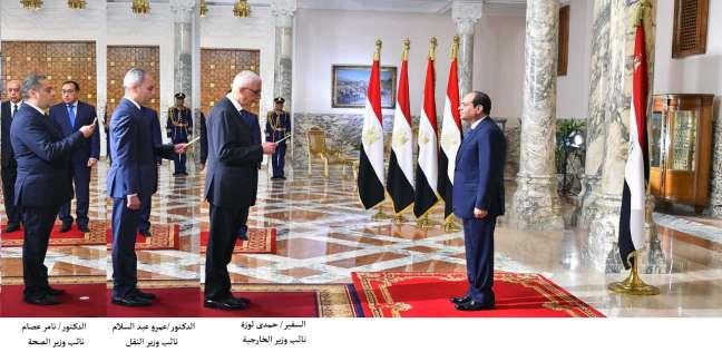 السيسي يشهد أداء المحافظين ونوابهم اليمين الدستورية