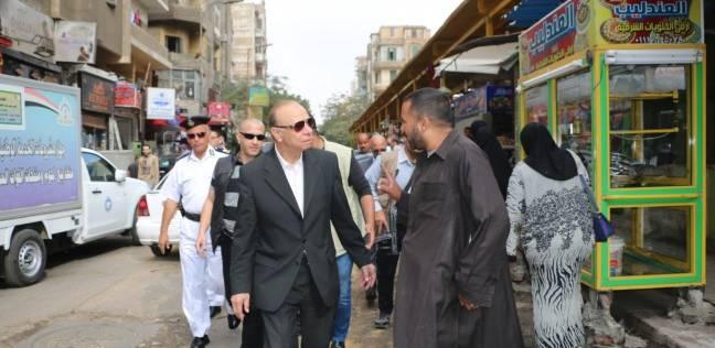 محافظ القاهرة: الباعة الجائلون والتوك توك مشكلة كبيرة بالعاصمة