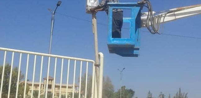 عودة التيار الكهربائي لمدينتي الشيخ زويد ورفح بعد إصلاح الأعطال