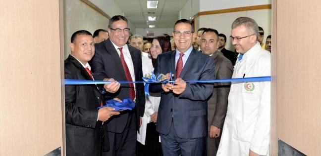 افتتاح تجديدات 21 عناية مركزة بمستشفى الباطنة التخصصي بجامعة المنصورة