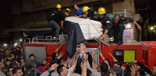 جنازة عسكرية وشعبية لشهيد سيناء أشرف جاد بالمنصورة