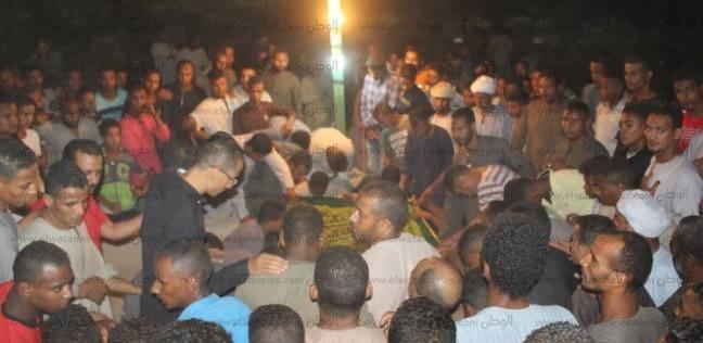 تشيع جثمان شهيد الواجب مجند أحمد علي يوسف جلال في الأقصر