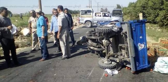 بالأسماء| ارتفاع المصابين في حادث التصادم ببورسعيد لـ16 عاملا
