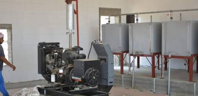 الانتهاء من محطة تحلية مياه الشلاتين خلال شهرين بقدرة 3000 متر مكعب