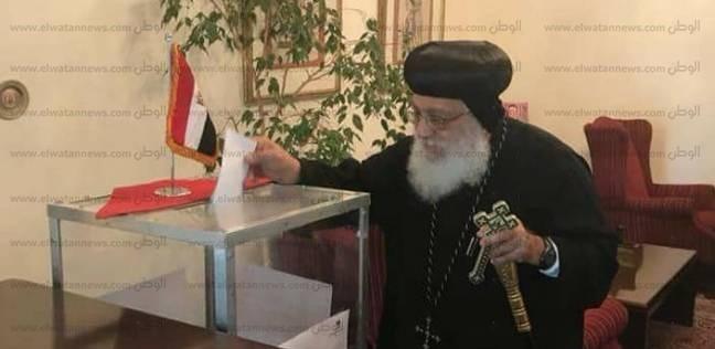 أساقفة المجمع المقدس للكنيسة الأرثوذكسية يدلون بأصواتهم في الانتخابات