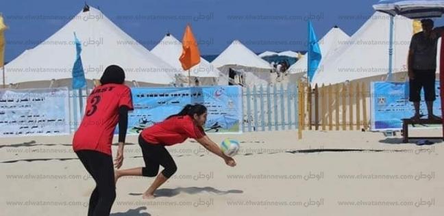 21 جامعة حكومية في مهرجان الألعاب الشاطئية في الساحل الشمالي - المحافظات -