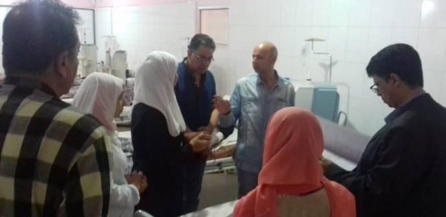 """وكيل """"صحة الشرقية"""" يوجه بإمداد مستشفى أولاد صقر بأطباء لسد العجز"""